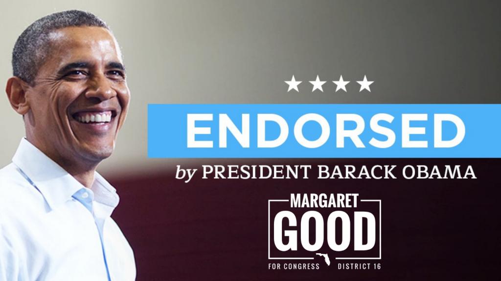 president obama endorses margaret good for congress