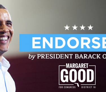 president obama endorses margaret good for congress