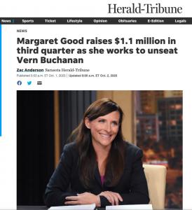 Margaret Good Sarasota Herald Tribune $1 million in donations